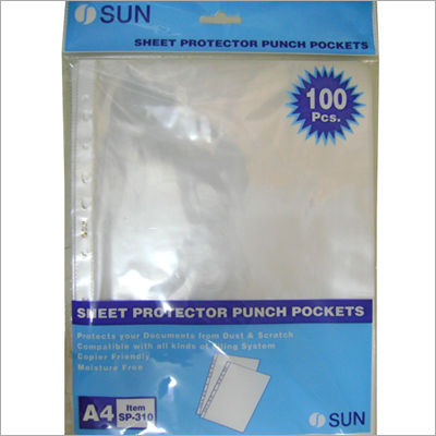 Sheet Protector Available in three